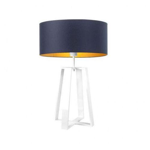 Lampa stołowa z abażurem THOR GOLD