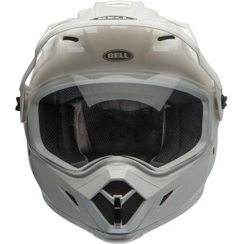 mx-9 adventure mips solid white kask duale marki Bell