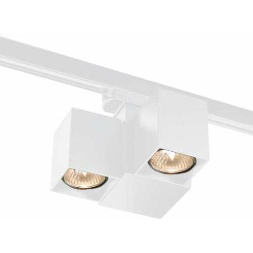 Shilo Lampa sufitowa bizen 7709 reflektorowa oprawa regulowana do 3-fazowego systemu szynowego biała (5903689977098)