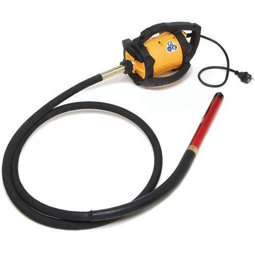 Wibrator  dingo + wałek giętki 3m + buława, średnica buławy - 40 mm marki Enar