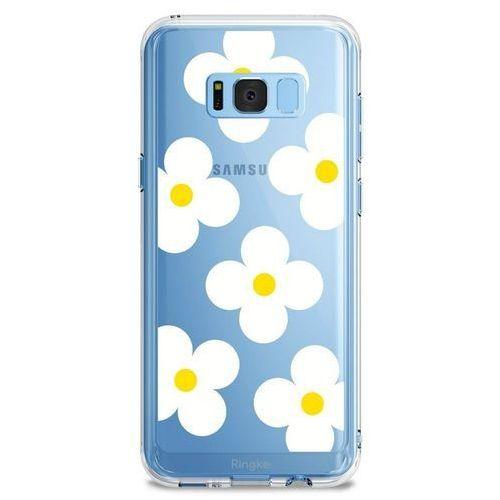 Etui Ringke Fusion Design Samsung Galaxy S8 White Daisies (8809550340121)