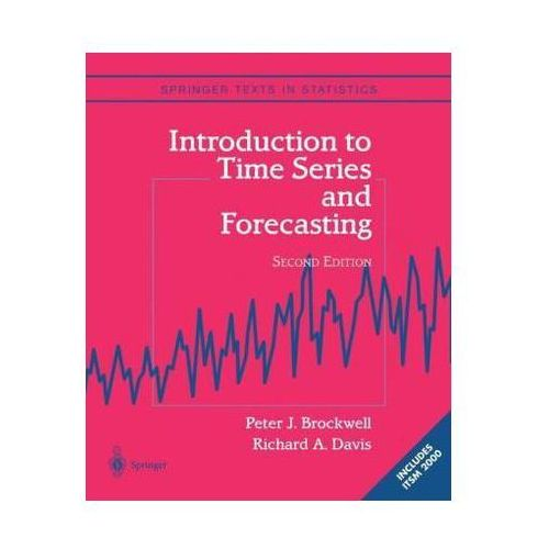 Introduction to Time Series and Forecasting (9780387953519)