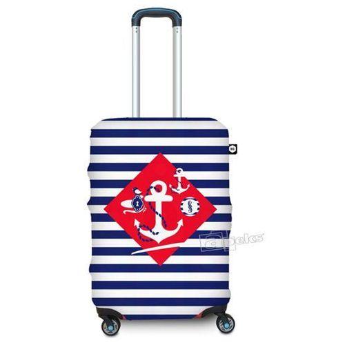 pokrowiec na średnią walizkę / rozmiar m / navy sense - navy sense marki Bg berlin