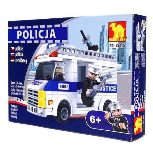 Dromader POLICJA Klocki furgonetka - 178 el. 23415