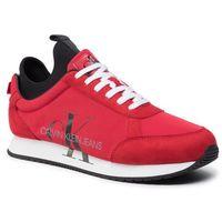 Sneakersy CALVIN KLEIN JEANS - Jemmy B4S0136 Racing Red, w 4 rozmiarach