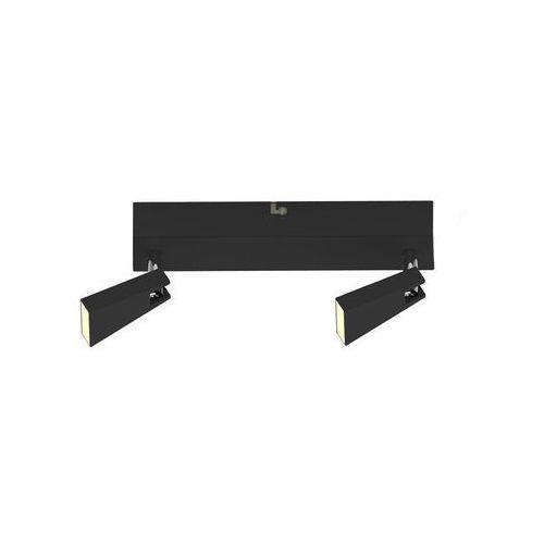 Zuma line Listwa spazio ck99603a-2b lampa oprawa sufitowa spot 2x5w led czarna (2011005780642)