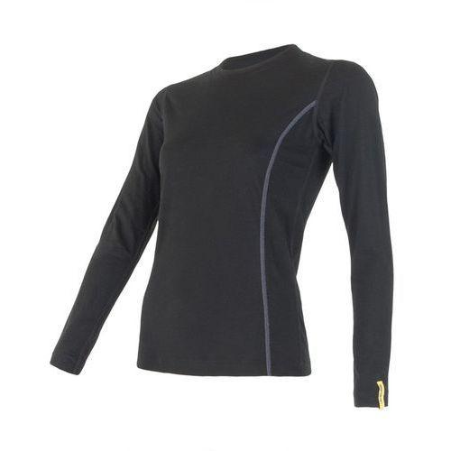 Bielizna termoaktywna Merino Wool Active Women's T-shirt Long Sleeves Czarny XL