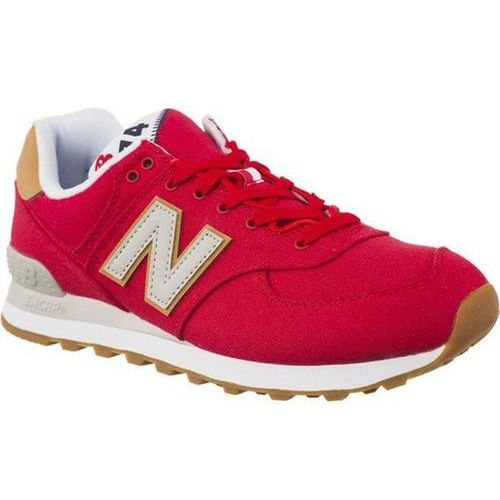 New Balance ML574YLA TEAM RED WITH OVERCAST