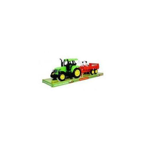 Swede Moje gospodarstwo - traktor z przyczepą i krową (5902496115853)