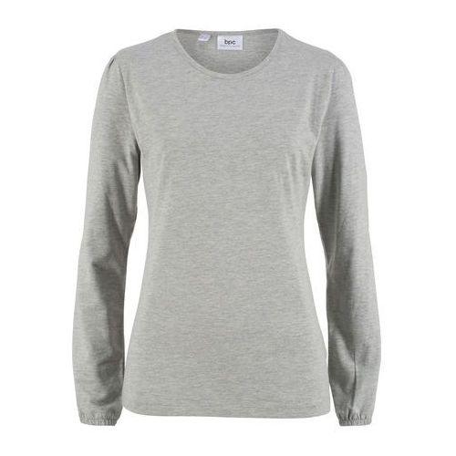 Bonprix Shirt z krótkim rękawem szmaragdowo-ciemnoniebieski w kropki