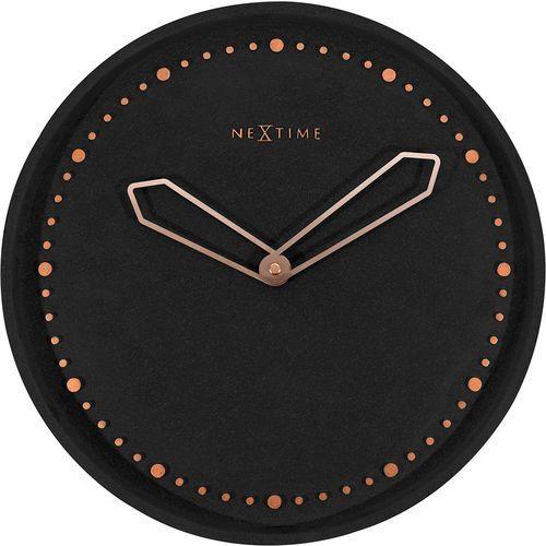 Zegar ścienny Cross Nextime czarny (3197 ZW)