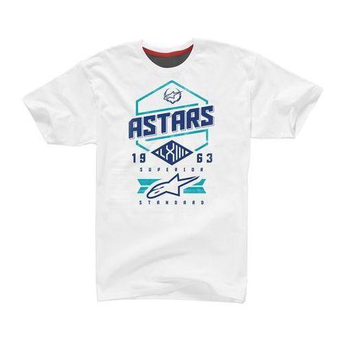 Koszulka Alpinestars HEX TEE white black Stratos 1102015-297 (8051194689832)