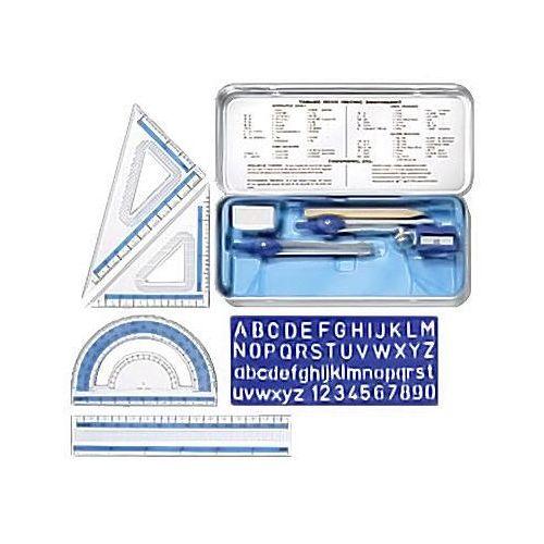 Cyrkiel staedtler + zestaw geometryczny x1 marki Dystrybucja melior