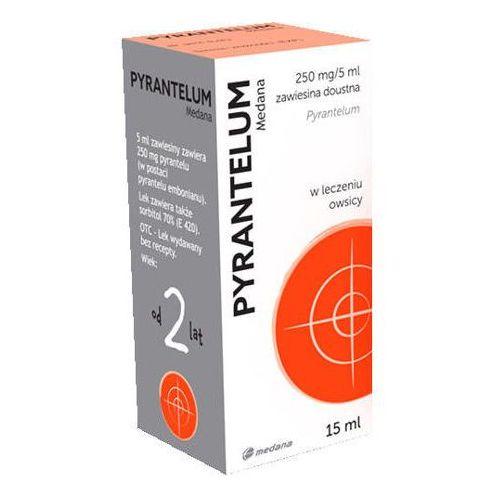 Pyrantelum 250mg/5 ml zawiesina doustna 15ml marki Medana