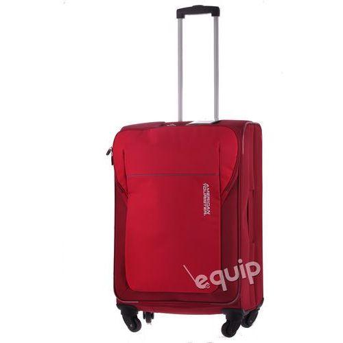 Walizka średnia  san francisco - czerwony marki American tourister