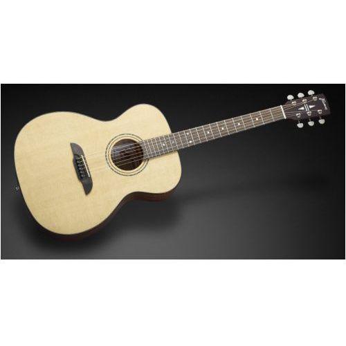Framus ff 14 sv - vintage transparent satin natural tinted gitara akustyczna