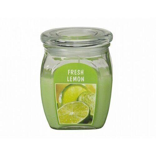 Bolsius Świeca zapachowa Big Jar w szkle lemon, 678607