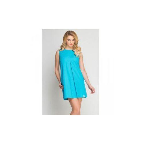 Sukienka kosmetyczna beauty turkus, Vena