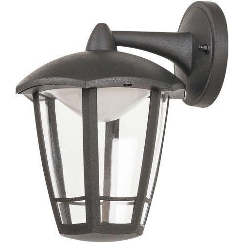 Kinkiet sorrento 8125 lampa ogrodowa zewnętrzna 1x8w led ip44 czarny matowy marki Rabalux