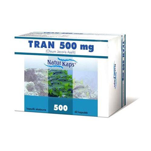 Kapsułki Tran 500 mg naturkaps x 60 kaps