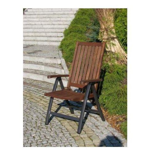 Fotel ogrodowy z regulowanym oparciem WELLINGTON FSC