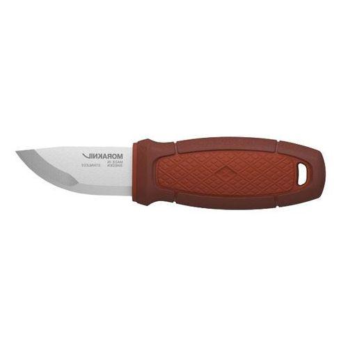 Morakniv Nóż eldris czerwony z zestawem neck knife kit