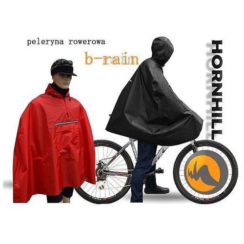 Przeciwdeszczowa peleryna rowerowa b-rain, Hornhill