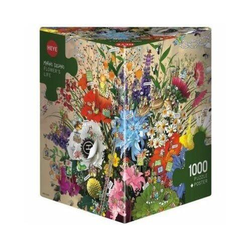 Heye 1000 elementów kwiatowe życie - darmowa dostawa od 199 zł!!!