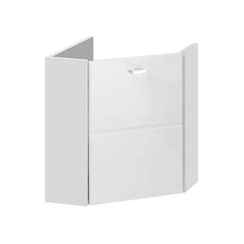 COMAD szafka podumywalkowa Finka White narożna FINKAWHITE824, kolor biały