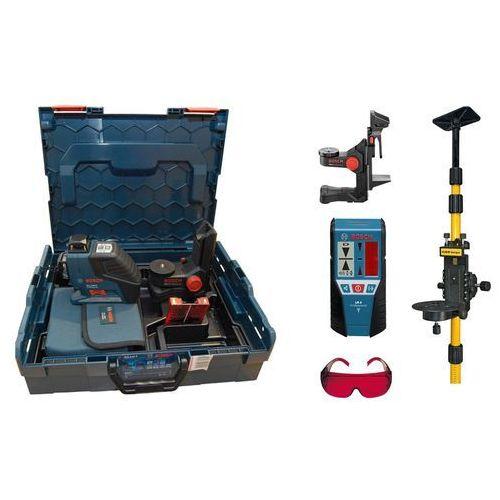 Bosch niebieski Laser liniowy bosch gll 3-80 p +bm1+lr2+statyw+l-boxx