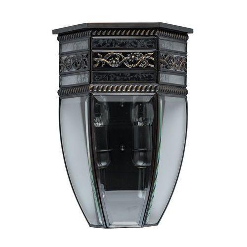Chiaro Kinkiet z czarnego mosiądzu zewnętrzny ip44 corso street (801020702) (4250369180424)