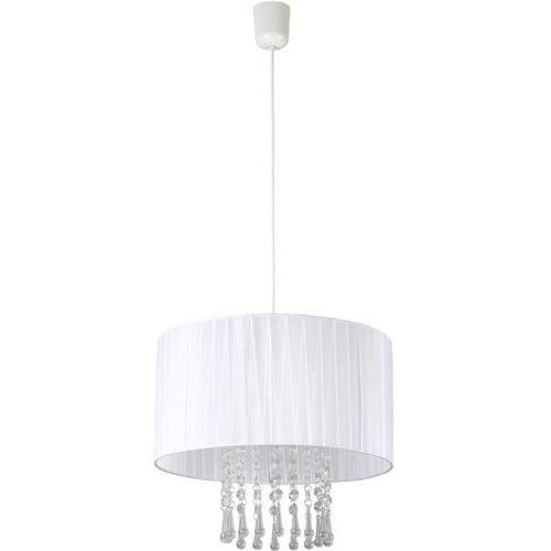 Lampa Wisząca Wenecja Biała 153/1 BIA - Biały
