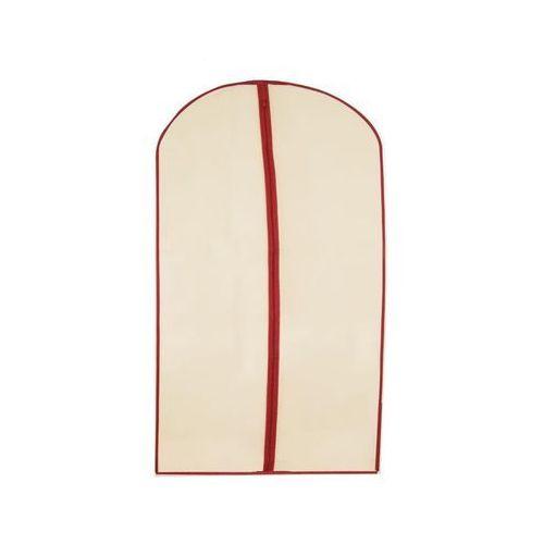 Pokrowiec na ubrania wanilia lady 6 l 60 x 100 x 1 cm 60 x 100 x 1 cm marki Global home