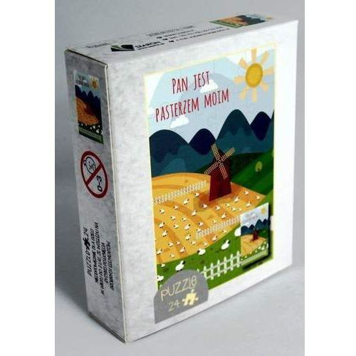 Szaron Puzzle 24 elementy. wiatrak - pan jest pasterzem moim (5902574160843)