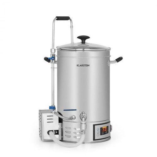 Klarstein Brauheld Kocioł do produkcji brzeczki 30 l 30–140°C pompa cyrkulacyjna stal szlachetna
