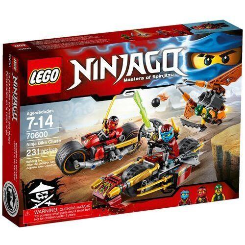 Lego NINJAGO Pościg na motocyklu 70600 wyprzedaż