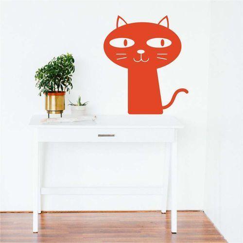 szablon do malowania ciekawski kot 2367
