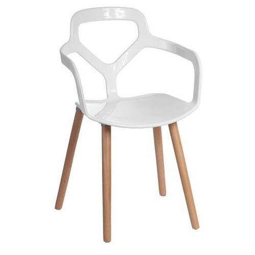 D2.design Krzesło nox wood - biały (5902385703611)