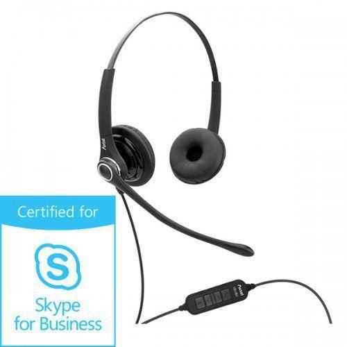 PRO MS XL duo USB Słuchawka nagłowna - AxTel