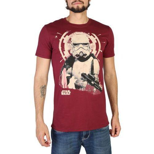 T-shirt koszulka męska STAR WARS - RDMTS018-13, kolor czerwony