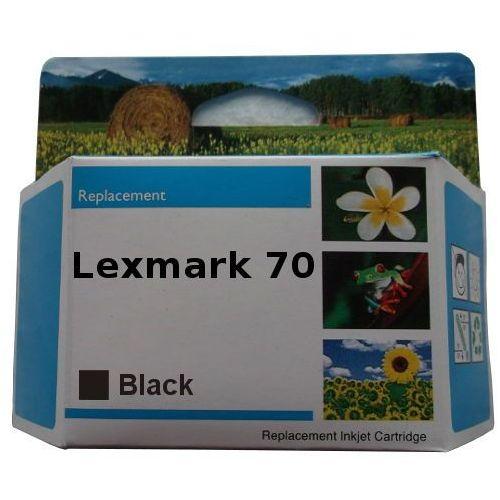 Orink Zastępczy atrament lexmark 70 [12ax970e =12a1970] black 100% nowy