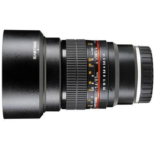 85 mm f/1.4 if umc / sony e marki Samyang