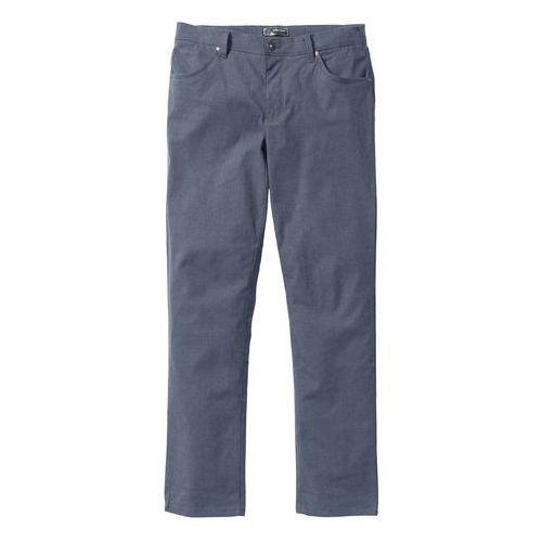 Spodnie ze stretchem regular fit ciemnoniebieski marki Bonprix
