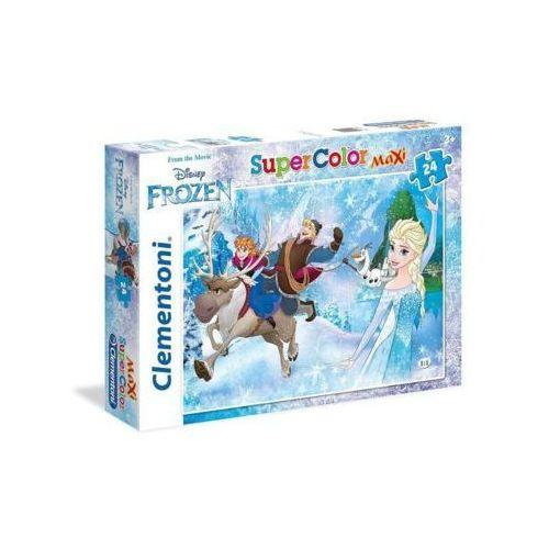 OKAZJA - Clementoni 24 elementy maxi frozen