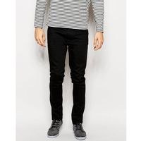 Nudie Jeans Lean Dean Slim Tapered Fit Dry Cold Black - Black, jeans