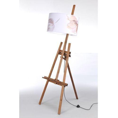 Namat Lampa stojąca sztaluga dark wood nr 2462