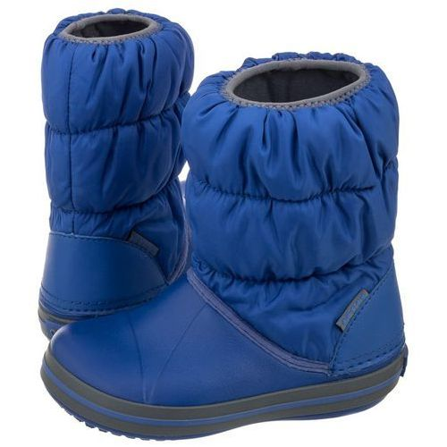 Śniegowce winter puff boot kids cerulean blue 14613-4bh (cr61-c) marki Crocs