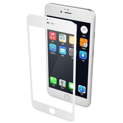 X-Doria Revel Clear - Hartowane szkło ochronne 9H na cały ekran iPhone 8 / 7 (biała ramka), 461849