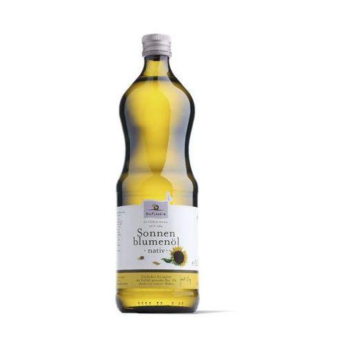 Olej słonecznikowy virgin bio 1 l - bio planete marki Bio planete (oleje i oliwy)