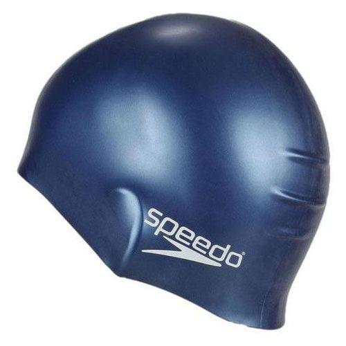 Speedo Czepek pływacki silikon cap navy 8709910011 - navy (5039247289171)